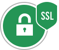 All transactions are secured via SSL